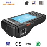 Handheld 4 Inch Android System POS Machine with Fingerprint Reader