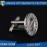 Customized Own Logo Souvenir Gift Metal Cufflinks for Man