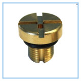 Brass Dowel Screw with 0.05mm Tolerance, OEM/ODM Services Welcomed