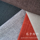 Imitation Sofa Linen Fabric with Different Backings for Home Textile