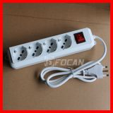 4 Outlet Italy Power Strip Socket with Child Protector