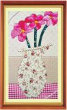 Supply DIY Art New Fashionable Patchwork Picture, Cloth Art Painting