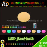 Lighted Color-Changing LED Pebble Lamp