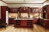 America Style Solid Wood Kitchen Door (zq-003)