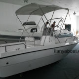 Liya 5m Outboard Motor Boat FRP Boat for Fishing