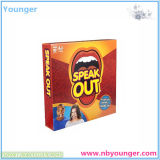 Hot Sell Speak out Cards Game