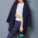 Elegant and Noble Women Coat Fashion Wool Wind Coat