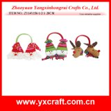 Christmas Decoration (ZY14Y156-1-2-3) Christmas Party Ear Muff Shield / Earflap Gift