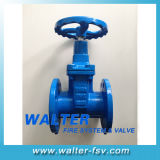 Rubber Seated Cast Iron Nrv Gate Valve