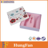 Coated Paper Printed Cosmetic Paper Packaging Gift Box with Blister