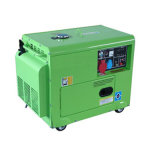 5kVA Small Power Portable Diesel Generator with Air Cooled Engine