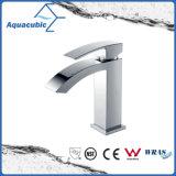 Chromed Solid Brass Body Single Handle Cloakroom Tap (AF6018-6)