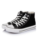 Men and Womens Fashion High Top Canvas Shoes (BF-C238)