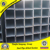 ERW Square Mild Steel Tube with Anti-Rust Oil Covered
