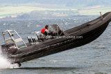 China Aqualand 27.5feet 8.3m Rigid Inflatable Motor Boat/Rescue/Patrol/Fiberglass Rib Boat (RIB830A)