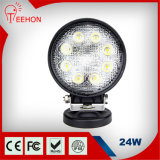 24W Offroad LED Work Light Spot Flood Beam