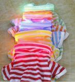 Colorful LED Collar Light Stripes Pet Dog Clothing (HN-PC721)