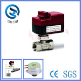2-Way Brass Motorized Ball Valve for Fan Coil (BS-858-20)
