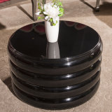 Wooden Side Talbe Round Coffee Table for Hotel Lobby