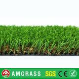 Outdoor Garden Used 35mm Height, V Shape Artificial Grass