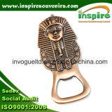 Egyptian Pharaoh Metal Beer Opener with Fridge Magnet