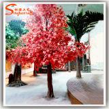 Wholesale Red Maple Bonsai Garden Decorative Artificial Maple Tree