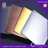 PVD Coating Stainless Steel Sheet High Quality Factory Price 201 304