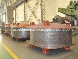 Ceramic Press Machine Cross Frames, Carbon Steel Casting
