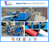 Plastic PE PP PVC PA Corrugated Electric Conduit Pipe Making Machine