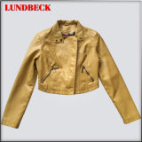 Sell Well New Design PU Jacket for Women