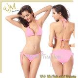 Wholesale Products Pink Sweet Sexy Swimsuits Lady Bikini