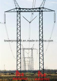 500kv Gantry Single Circuit Overhead Transmission Tower
