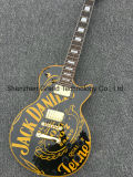High Quality Lp Style OEM Electric Guitar in Black (GLP-324)