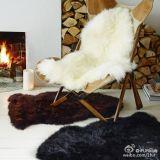 Luxurious Soft Sheepskin Chair Throw Lambskin Rugs