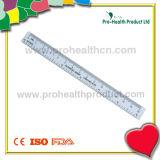 Transparent HIPS Plastic Ruler for School
