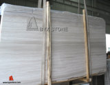 Wooden White Marble Slabs for Flooring Tile and Wall Curtain