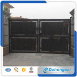 Powder Coated Steel Single Driveway Fence Gate