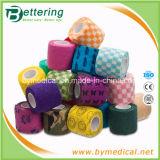 Veterinary Flexible Non Woven Self Adhesive Bandage