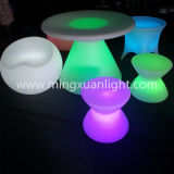 LED Table LED Desk Glowing Table Ound Tea Table