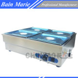 Electric Stainless Steel Bain Marie Food Warmer (SB-4T)