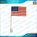 "American Flag Wood Staff 4""X6"" W/Suction Cup (J-NF24F03002)"