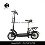 Wellsmove Design 12 Inch Easy Folding Electric Scooter Mobility Scooter