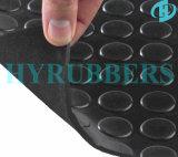 Round Button Rubber Sheet Rolls; Rubber Mat