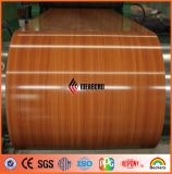 PE & PVDF Coil Coated Aluminium with Wooden Look Ideabond