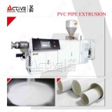 Saving-Energy Extruder PVC Pipe Extrusion Line
