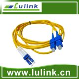 High Quality Fiber Optic Patch Cord with Single Model Duplex