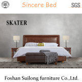 Sk21 American Style Leather Bed Fabric Bed