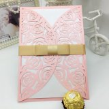 Pearl Paper Invitation Cards Custom Greeting Card Printing