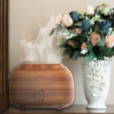 300ml Mini Wooden Ultrasonic Aroma Air Humidifier for Home/Office/Hotel/Yoga/SPA