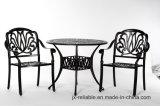 Leisurely Garden 3PC Dining Aluminum Furniture W/O Cushion